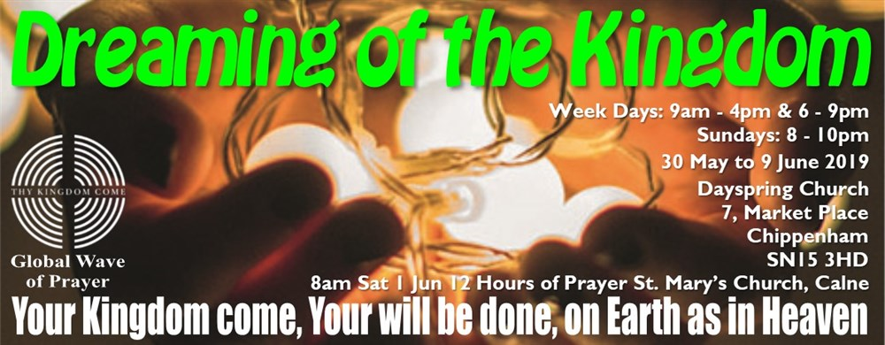Join the global wave of prayer